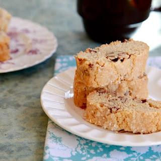 Peanut Butter Pecan Biscotti.