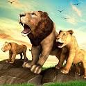 The Lion Simulator - Animal Family Simulator Game icon