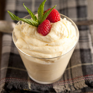 Lemon Mascarpone Mousse.