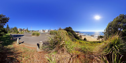 Photo: Street View of Nobbys Beach and Escape at Nobbyswww.escapeatnobbys.com.au