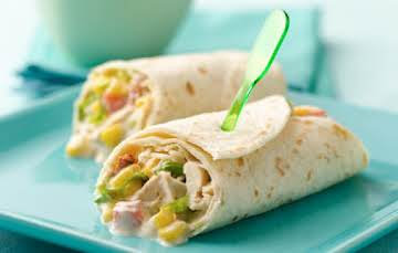 Corny Chicken Wraps