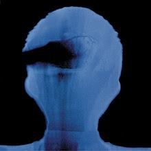 Photo: 19_Memoires photogramme 50x50cm sur papier bleu © Olivier Perrot 1996