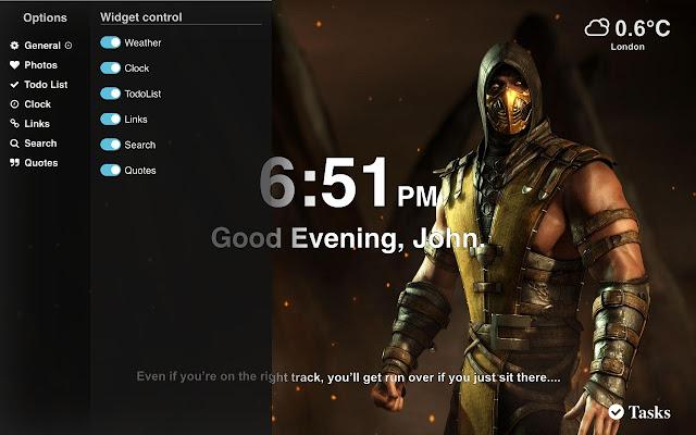 Mortal Kombat 11 Wallpapers New Tab HD