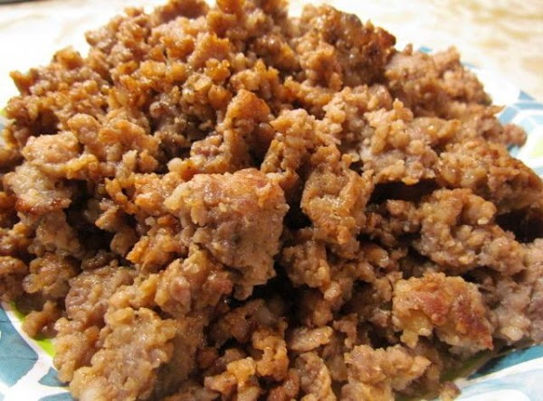 In a large frying skillet crumble and fry up your sausage.remove sausage and set...
