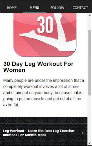 女性のための30日の脚のワークアウトあなたは最高の脚のワ