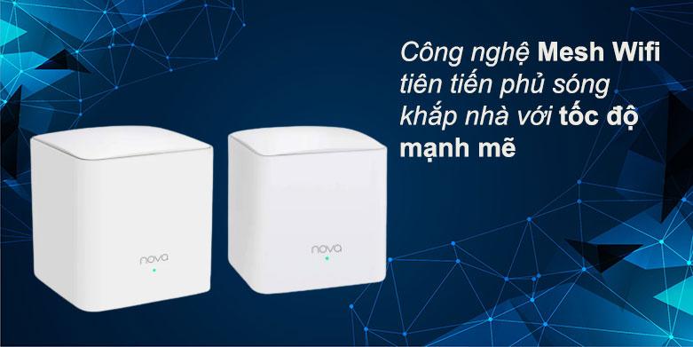 Thiết bị mạng/ Mesh Tenda MW5C (2 pack)   Tốc độ mạnh mẽ