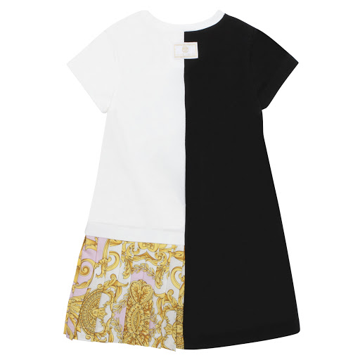 Thumbnail images of Young Versace Two-Tone Dress