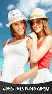 Ženy klobouky fotoaparát - náhled