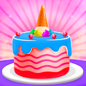 🎂 Cake maker - Unicorn Cooking Games for Girls 🌈 icon