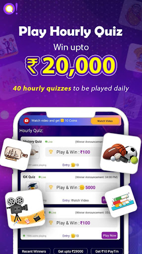 Qureka: Play Live & Hourly Quizzes | Win Cash screenshots 4