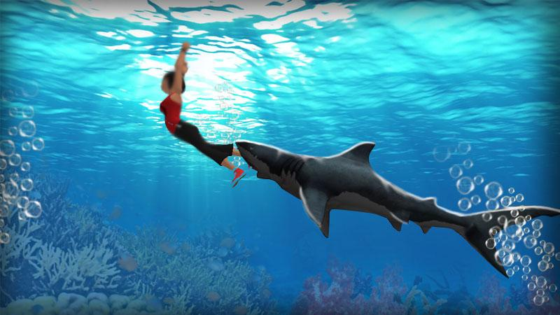 shark simulator d game android apps on google play shark simulator 3d game screenshot