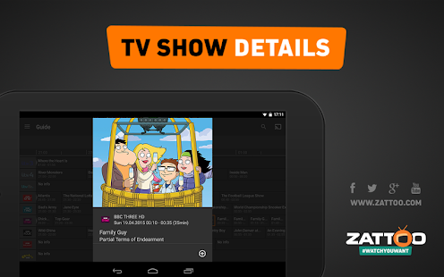 Zattoo Live TV- screenshot thumbnail