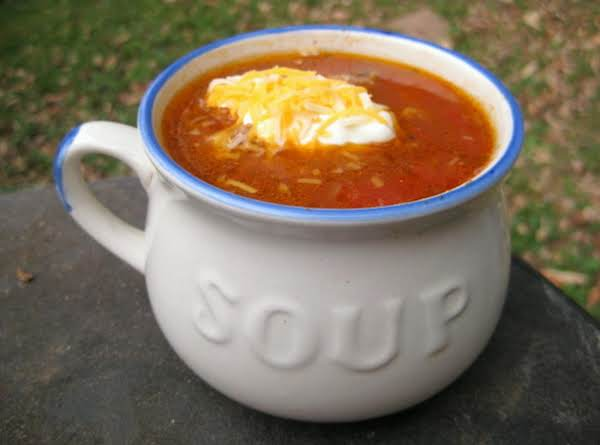 Taco Soup With Hominy Recipe