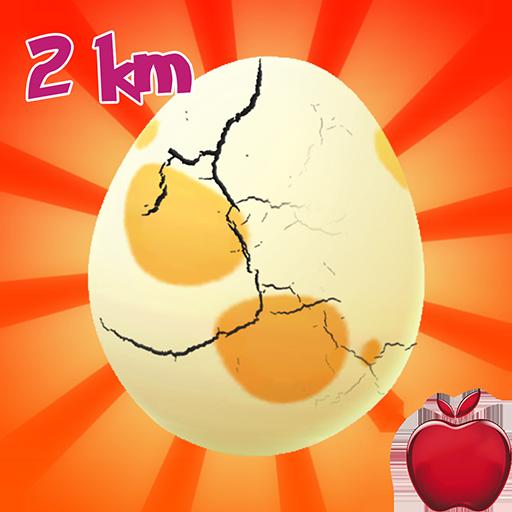 Egg Hatching Poke Gen 1 : 2 Km