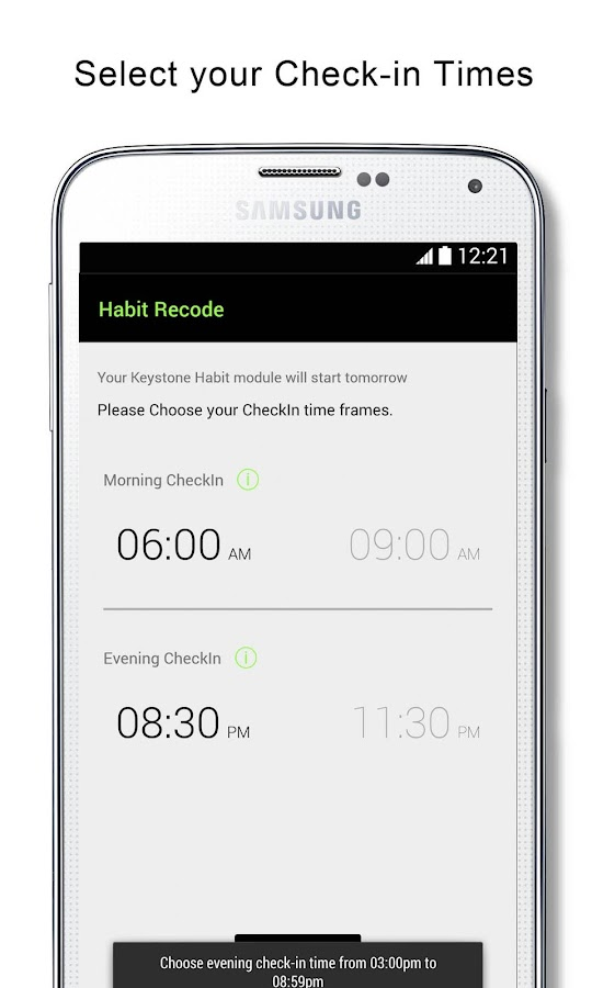 Habit reCode. Accountability Partner Routine Coach- screenshot