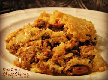 Chili & Cornbread Skillet