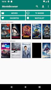 Movie Browser – Movie list 6.0 MOD Apk Download 1