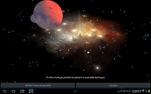 3D Galaxy Live Wallpaper 4K Full screenshot 23