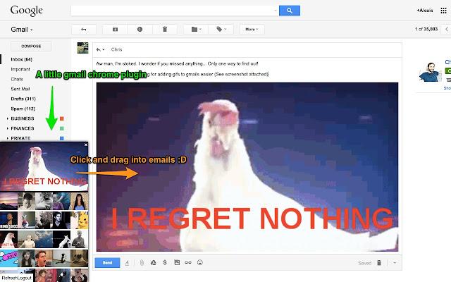 Gmail Gif Exchange