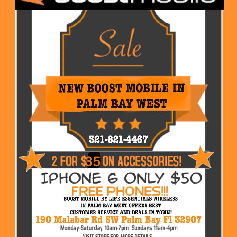 Boost Mobile In Palm Bay West by Life Essentials Wireless