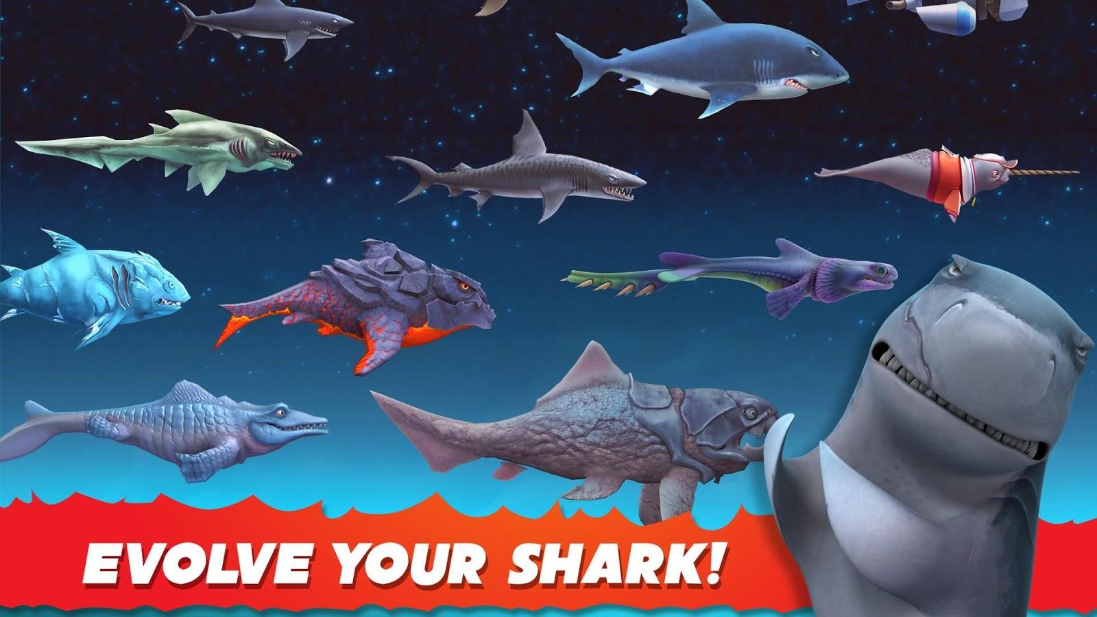 hungry shark evolution hack download windows phone