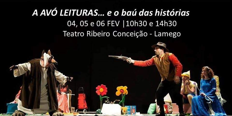"""Teatro Ribeiro Conceição apresenta """"A Avó Leituras..."""""""