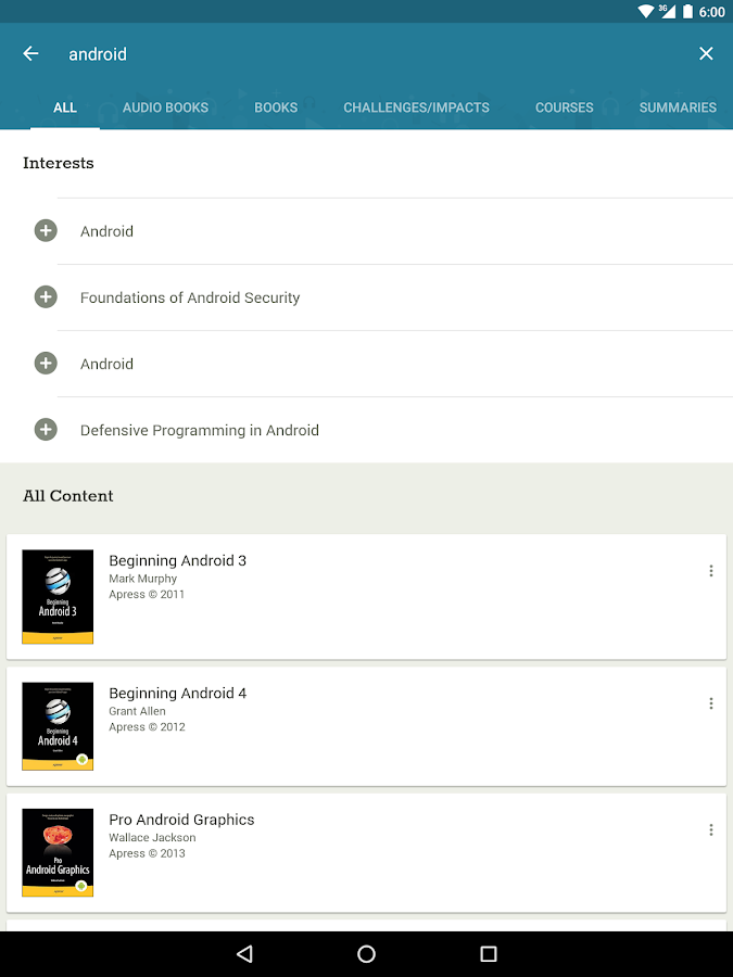 Skillsoft Learning App- screenshot