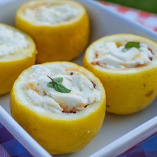 Stuffed Lemons in the Oven