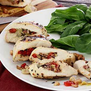 Paleo Pancetta Stuffed Chicken Breast