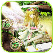 Fairy Girl Forest Theme