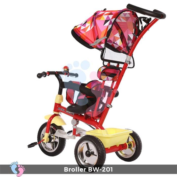 Xe đạp đẩy 3 bánh Broller XD3-201 6