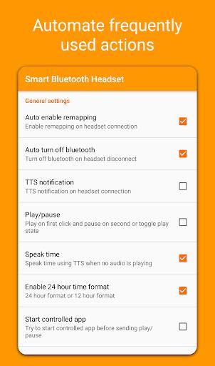 Smart Bluetooth Headset screenshot