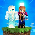 Skins+Addon+Map&Shader Elsa Frozen For MCPE 2021 icon