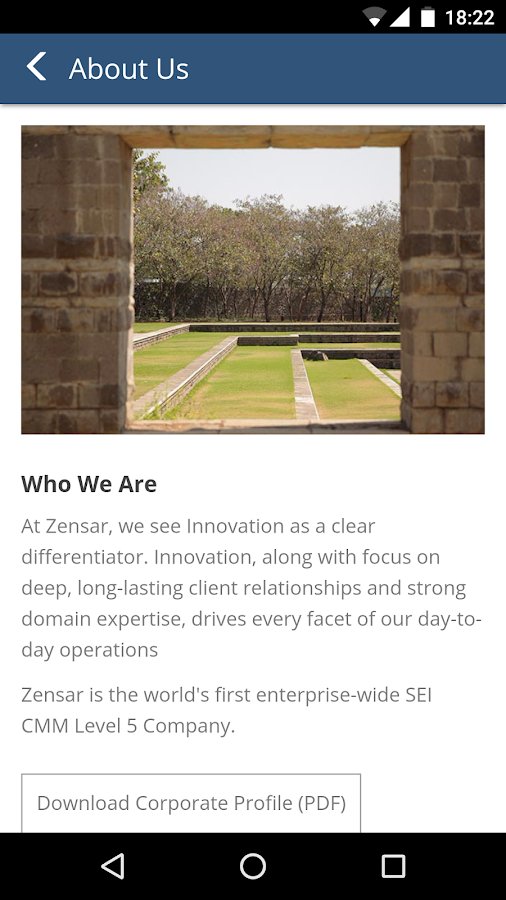 Zensar- screenshot