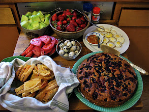Photo: Tuesday breakfast spread