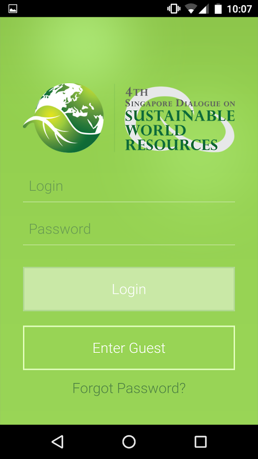 Sustainable World Resources- screenshot
