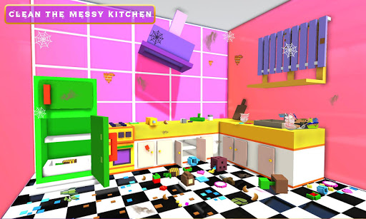 Code Triche Princesse maison nettoyer APK MOD screenshots 4