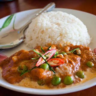 Panang Curry with Beef Recipe (Kaeng Phanaeng Neua).