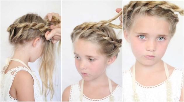 Admirable Little Girl Hairstyle Tutorial Android Apps On Google Play Hairstyles For Women Draintrainus