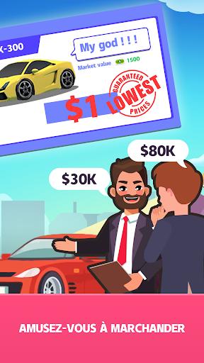 Code Triche Concessionnaire de voitures d'occasion APK MOD (Astuce) screenshots 3
