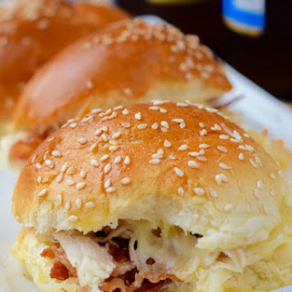 Turkey Bacon Ranch Sliders
