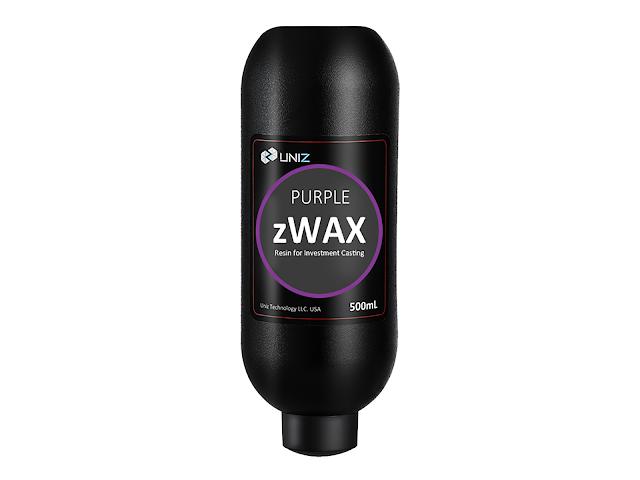 Uniz zWax Resin - Purple - (500ml)