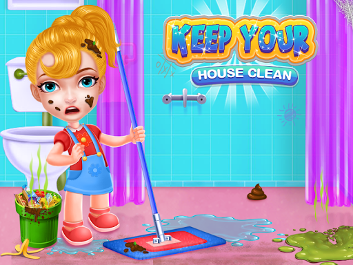 Keep Your House Clean - Girls Home Cleanup Game 1.2.4 screenshots 14