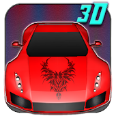Cool Red Sports Car 3D
