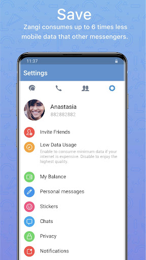 Zangi Private Messenger screenshots 4