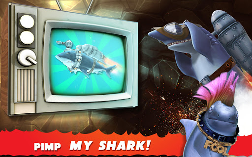 (APK) تحميل لالروبوت / PC Hungry Shark Evolution ألعاب screenshot