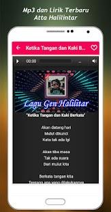 New Song + Lyrics Atta Halilintar - náhled
