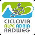 Alpe Adria Radweg icon
