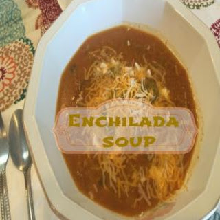 This Chicken Enchilada Soup Is Just Delicious