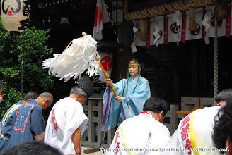 Photo: 【平成19年(2007) 本宮】 安全祈願。お祓いを受ける。